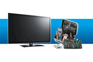 تعمیرات تلویزیون ال جی و رفع اشکال قطعی تصویر تلویزیون ال جی