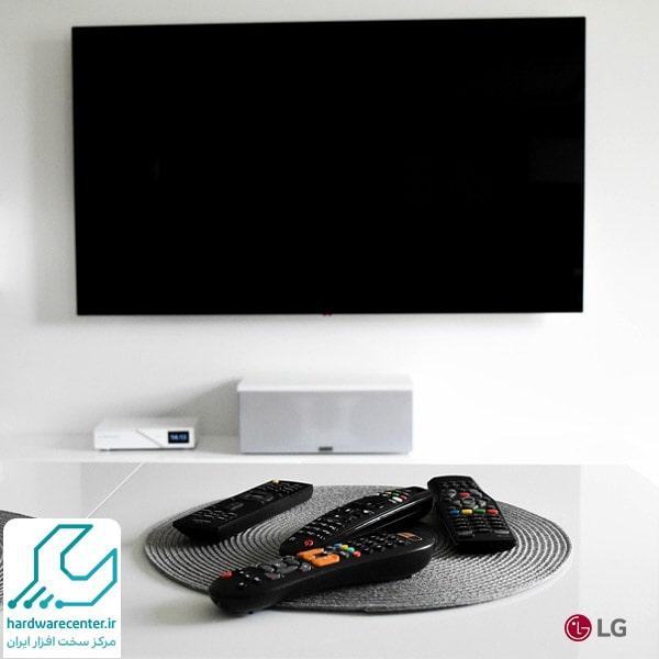 علت قطع شدن تصویر تلویزیون ال جی در حالیکه صدا دارد
