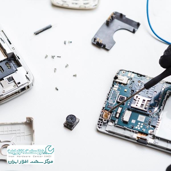 آموزش تعمیر موبایل ال جی - گوشی LG