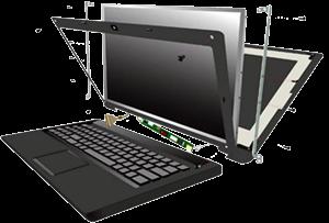 تعمیر و تعویض ال سی دی لپ تاپ ال جی