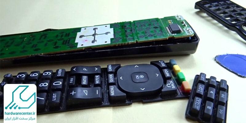 تعمیر ریموت کنترل تلویزیون ال جی