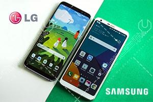 گوشی های Samsung Galaxy S8 و LG G6