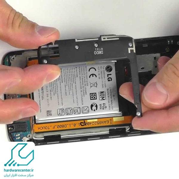 تعمیر باتری گوشی ال جی