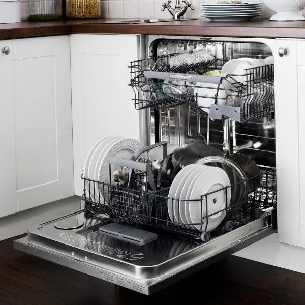 قرار دادن ظروف در ظرفشویی الجی