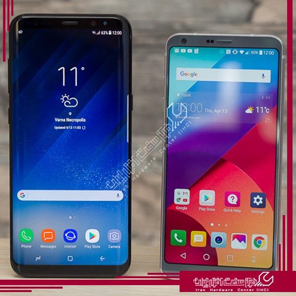 گوشی های 2018 ال جی
