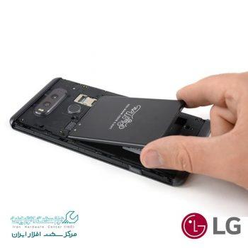 تعویض باتری موبایل ال جی