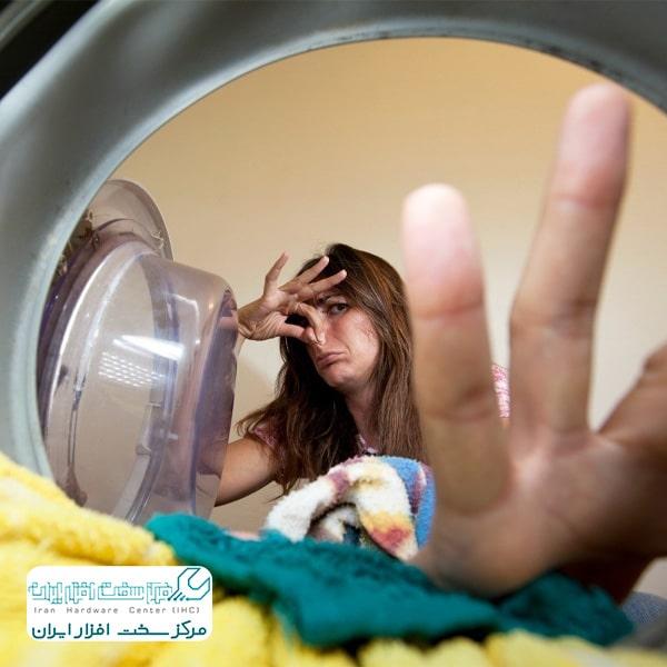 رفع بوی بد ماشین لباسشویی ال جی