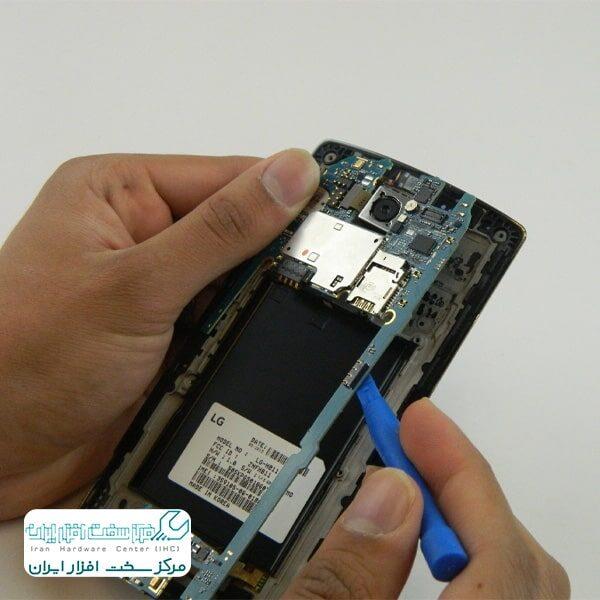 برد موبایل ال جی