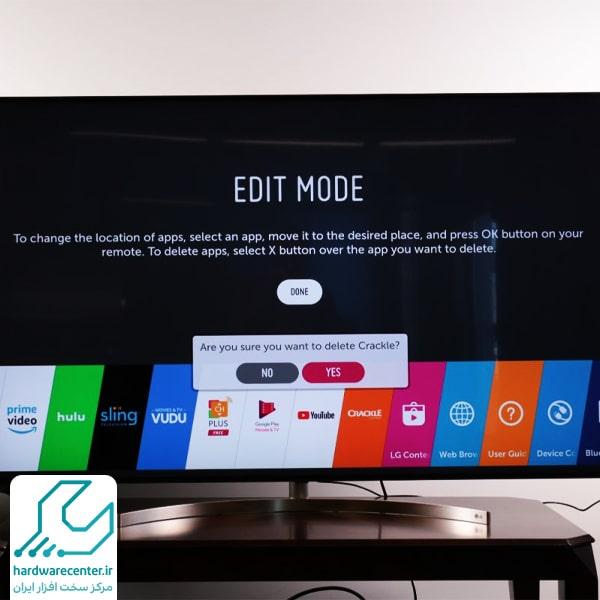آموزش حذف کانال در تلویزیون ال جی