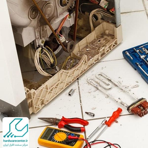 تعمیر پمپ تخلیه لباسشویی ال جی