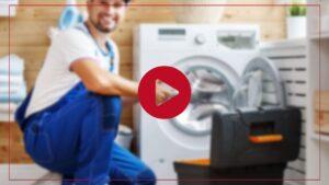فیلم آموزش تعویض لاستیک دور درب ماشین لباسشویی ال جی