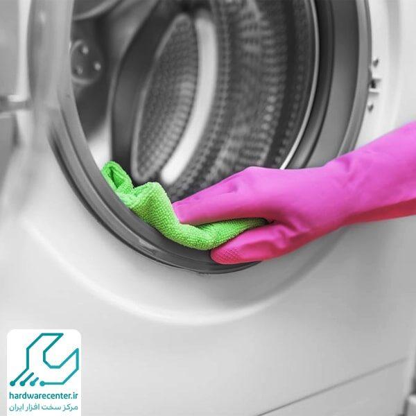 تمیز کردن ماشین لباسشویی ال جی