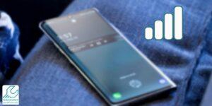 مشکل آنتن دهی موبایل ال جی