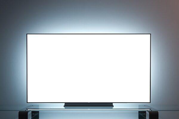 سفید شدن صفحه تلویزیون