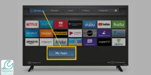 اضافه کردن برنامه جدید به تلویزیون هوشمند