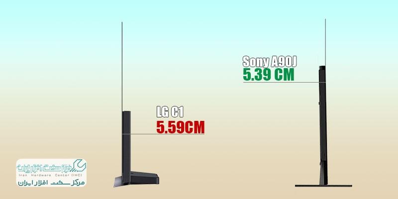 مقایسه تلویزیون ال جی و سونی